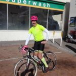 David Kleynhans plans to cycle the height of Mount Everest