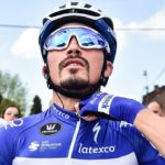 Julian Alaphilippe defended his title in the La Flèche Wallonne