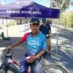 Marchal Hendricks won the Epic battle at the Karoo Battle of the Bikes