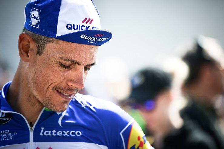 Philippe Gilbert won the Paris-Roubaix
