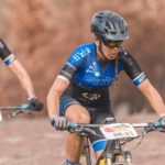 Sarah Hill, pictured during the Cape Epic