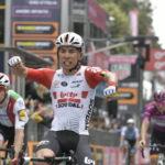 Caleb Ewan stage eight Giro d'Italia