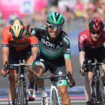 Italian Cesare Benedetti won stage 12 of the Giro d'Italia