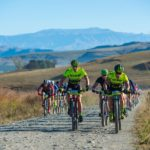 Lance Metz and Dale Harley won the men's team race on stage two of the sani2c Trail