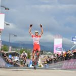 Fausto Masnada won stage six of the Giro d'Italia