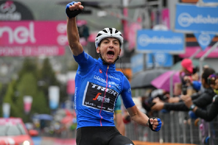 Giulio Ciccone won stage 16 of the Giro d'Italia
