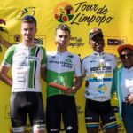 Kent Main (left) finished second on stage three of this year's Tour de Limpopo