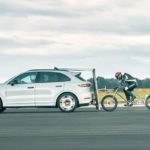 Neil Campbell set a new European cycle speed record