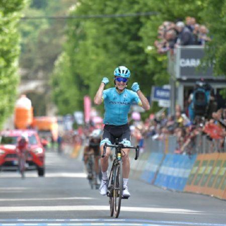 Astana's Pello Bilbao won stage seven of the Giro d'Italia
