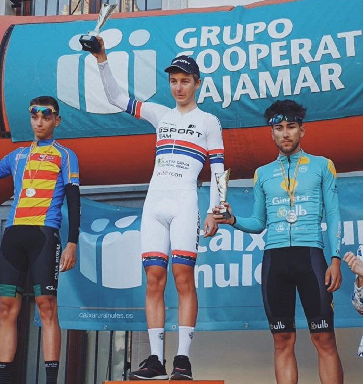 Byron Munton took his first gold medal in Spain when he won the Campeonato C.Valenciana individual time-trial