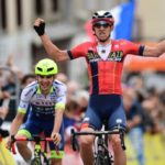 Dylan Teunswon stage two of the Criterium du Dauphine