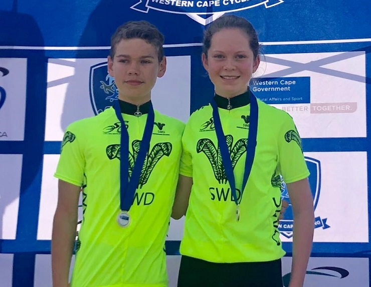 Louis Venter and Anya du Plessis were crowned the best-performing riders at the Oudtshoorn Youth Festival
