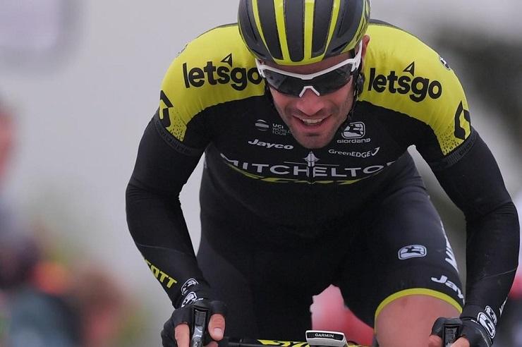 Luka Mezgec won stage two of the Tour of Slovenia