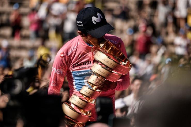 Richard Carapaz won the 2019 Giro d'Italia