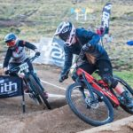 South African Sabine Thies placed seventh in the junior women's downhill final round at the UCI Mountain Bike World Cup