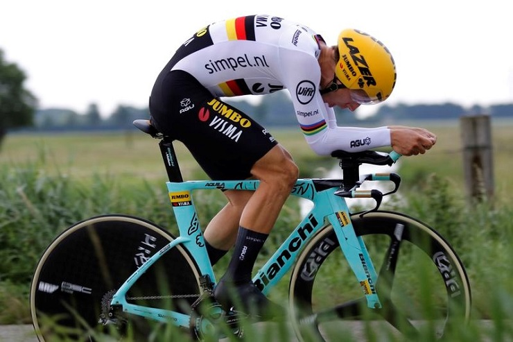Tony Martin won the time-trial at the German Road Championships
