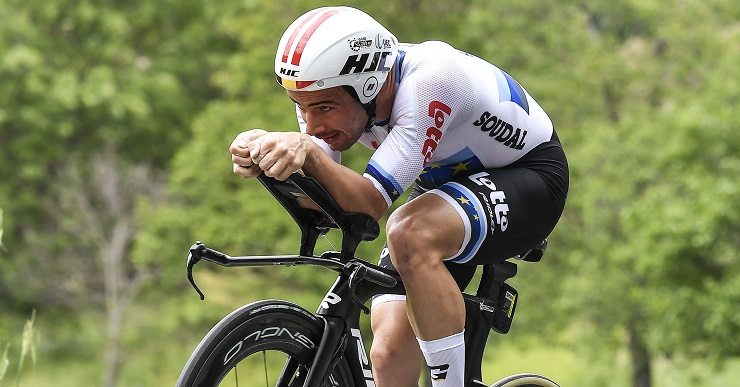 Victor Campenaerts aims to defend his time-trial title at the Belgian Road Championships