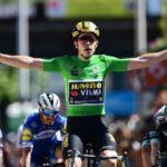 Wout van Aert won stage five of the 2019 Criterium du Dauphine