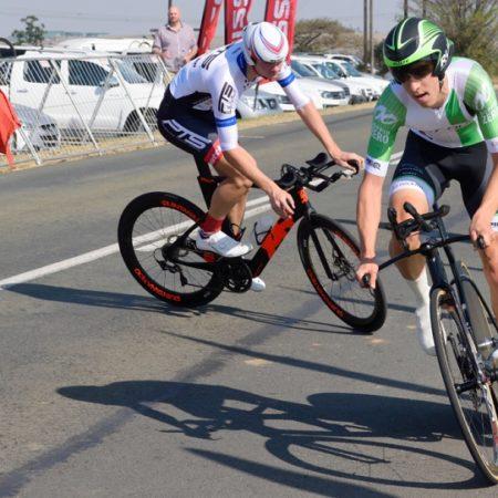 Tiano Da Silva won the U19 men's road race at the SA Junior & Youth National Championships