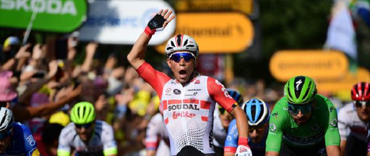Caleb Ewan won stage 16 of the Tour de France