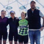 Danielle Strydom (second from left) won the Kgaswane MTB Race