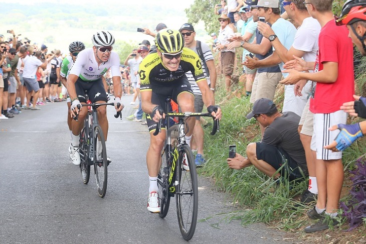 Daryl Impey will be the captain on the road for his Mitchelton-Scott team in this year's Tour de France