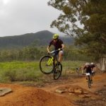 Gert Heyns won the MTB XCO race at the USSA Cycling Tournament