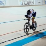 South African track cyclist Jean Spies is currently based at T-Town