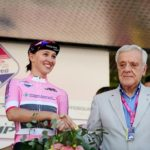 Katarzyna Niewiadoma (Canyon-SRAM) retained her overall lead on stage four of the Giro Rosa