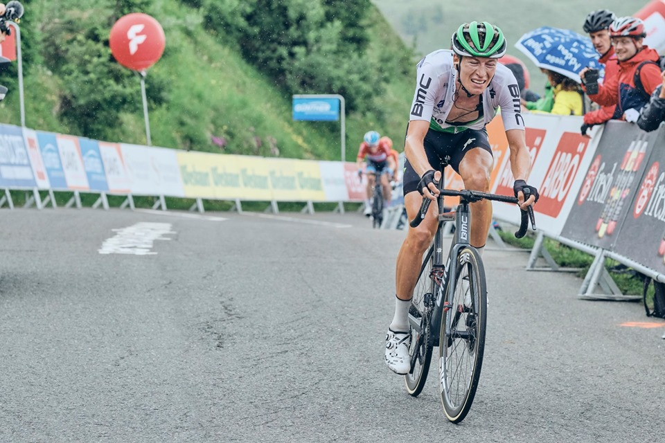 Stefan de Bod placed third overall in this year's Tour of Austria