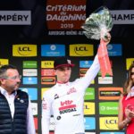 Bjorg Lambrecht died during surgery following a fatal crash on stage three of the Tour de Pologne