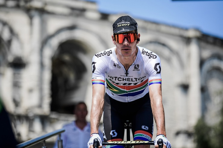 South African Daryl Impey won this year's Czech Cycling Tour
