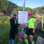 David Kleynhans successfully completed his fourth Everesting attempt