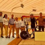 Gert Fouche set a new UCI Masters World Hour Record