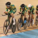 The South African team placed 16th in the men's team pursuit at the Junior World Track Championships