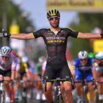 Luka Mezgec won stage five of the Tour de Pologne