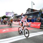 Mathieu van der Poel won the opening stage of the Arctic Race of Norway