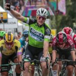 Sam Bennett increased his overall lead when he won stage two of the BinckBank Tour
