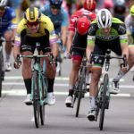 Sam Bennett took his third stage win in a row at the BinckBank Tour
