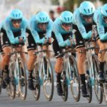 Astana won the opening team time trial of this year's Vuelta a España