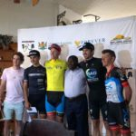Alex Worsdale (in yellow) won the Mpumalanga Tour