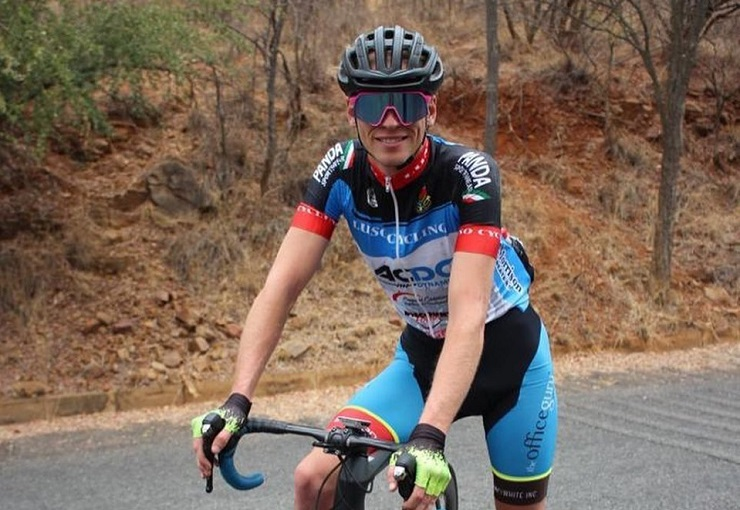 Alex Worsdale won stage two of the Mpumalanga Tour