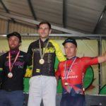Bradley Gouveris won the Timbercity Cycle Tour