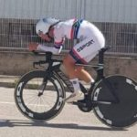 Byron Munton placed eighth in the U23 men individual time-trial at the UCI Road World Championships