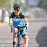 Dylan Girdlestone won the men's event at the TrapNET race
