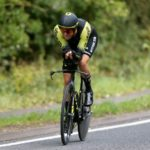 Edoardo Affini won the individual time-trial on stage six of the Tour of Britain