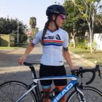 Frances Janse van Rensburg forms part of the national junior women's team for the UCI Road World Championships
