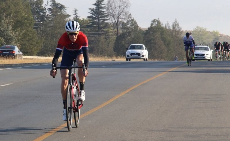 Grant Edmiston won the Khemani Road Classic