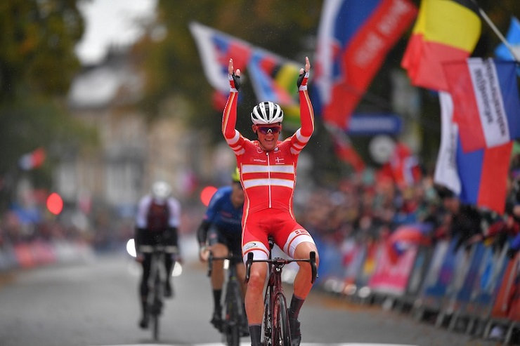 Mads Pedersen won the elite men's road race at the UCI Road World Championships