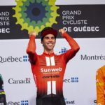 Michael Matthews successfully defended his Grand Prix Cycliste de Québec title